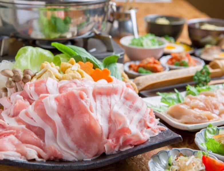 講究的豬肉涮涮鍋