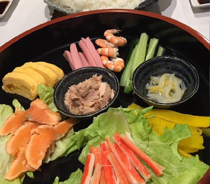 手巻き寿司コース