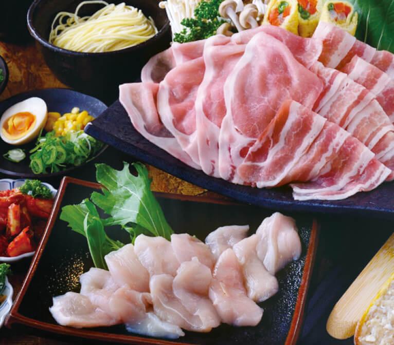 阿波ポーク、阿波尾鶏2時間半食べ放題コース