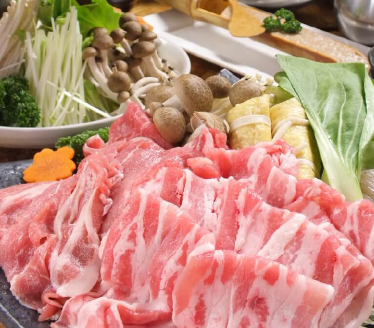 特選涮豬肉套餐