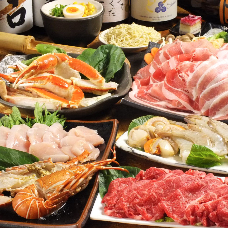 Select Pork Slices, Chicken, Shrimps, Oysters, Scallops All-You-Can-Eat & Drink Crab & Seafood Course (2 Hours)