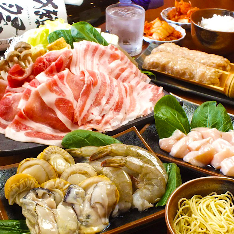 Select Quality Brand Pork Slices, Beef, Chicken, Shrimps, Oysters, Scallops All-You-Can-Eat & Drink Course (2 Hours)